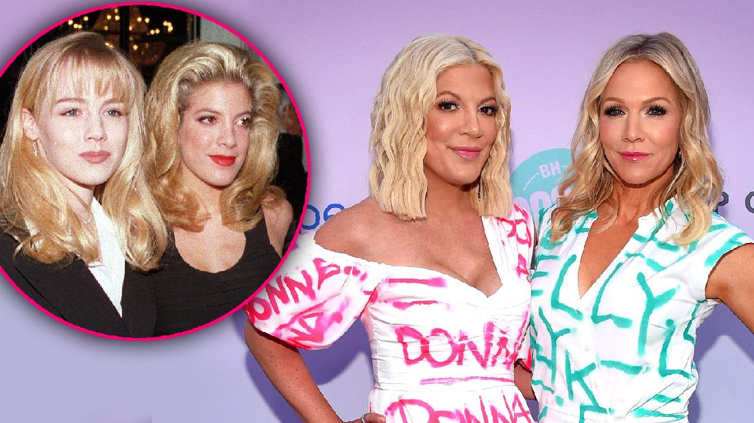 Tori Spelling Hits Red Carpet With Jennie Garth Amid Money Woes
