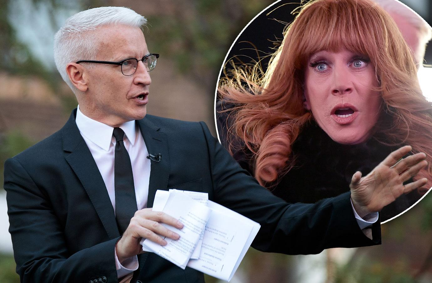 Kathy Griffin Donald Trump Anderson Cooper CNN