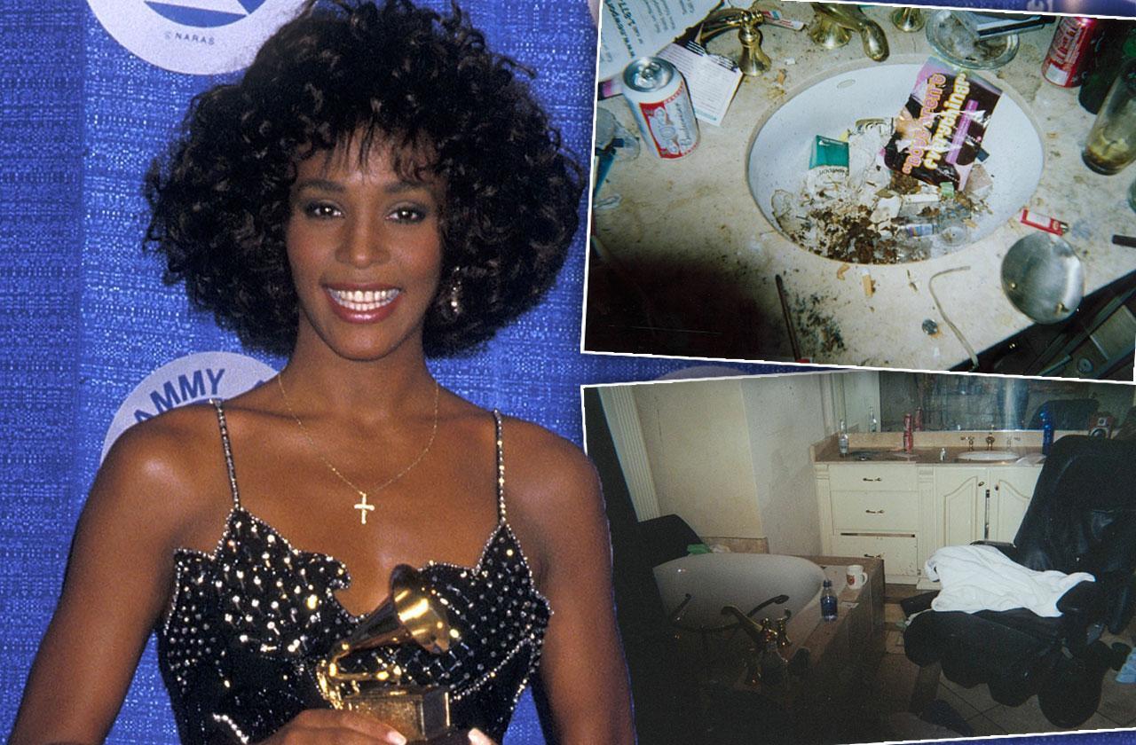 Whitney Houston Drug Bathroom Kanye West Pusha T Album Cover