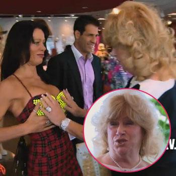 RHOBH's Carlton Takes Mother-in-Law Thong Shopping