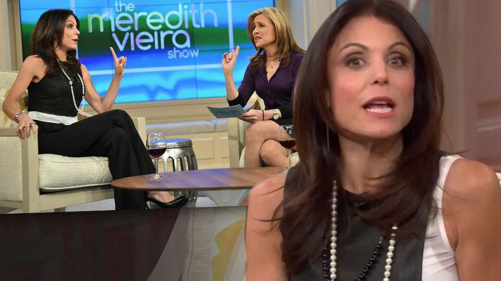 Meredith Vieira Calls Out Bethenny Frankel