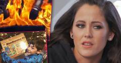 Jenelle evans gifts son wood burning kit illegally setting fire land