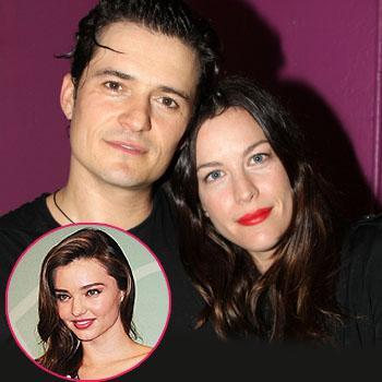 Orlando Bloom Liv Tyler dating? Miranda Kerr