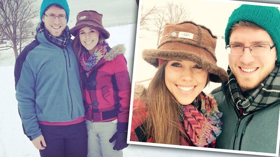 Jessa Duggar & Ben Seewald Snow Day