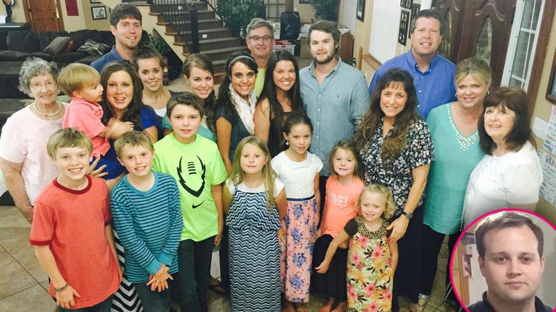 Amy Duggar Engaged Josh Duggar Missing Family Photo