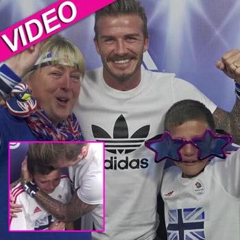 //david beckham surprise fans youtube