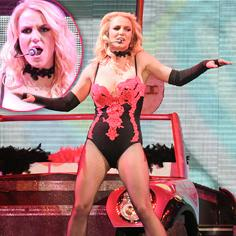 //britney spears no lip synch las vegas