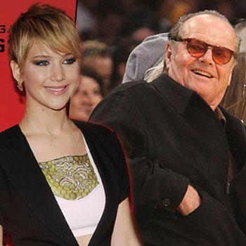Jack Nicholson Sends Flowers Jennifer Lawrence