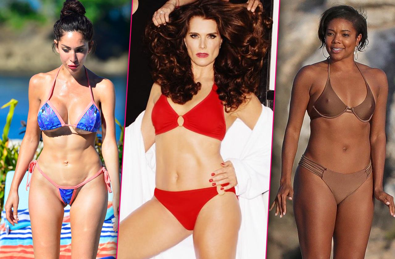 Summer Celebs – Skimpy Swimsuits Leave Little To The Imagination