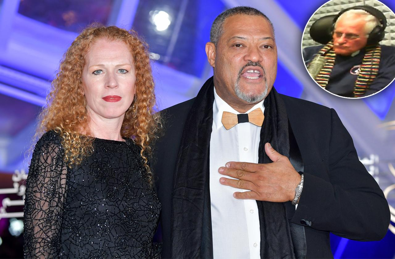 laurence fishburne steals elderly ministers wife