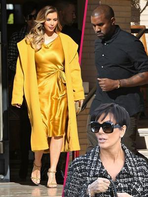//kimye goes shopping with kris pp