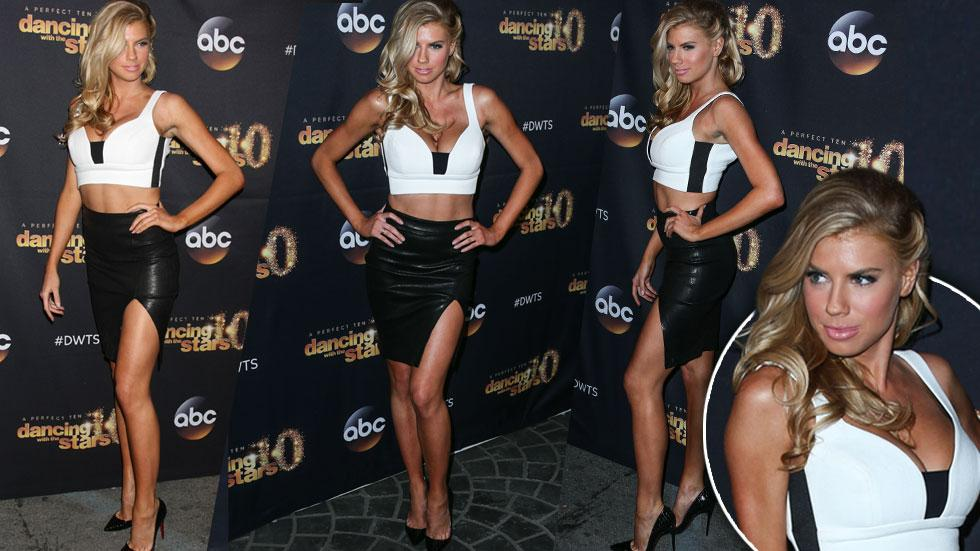 Charlotte McKinney Dress -- 'Dancing With The Stars' Party