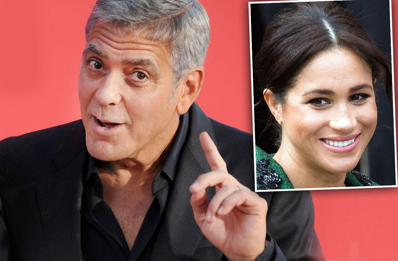 George Clooney Defends Meghan Markle