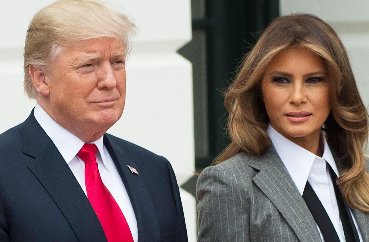 //melania trump vanity fair article president donald trump denial