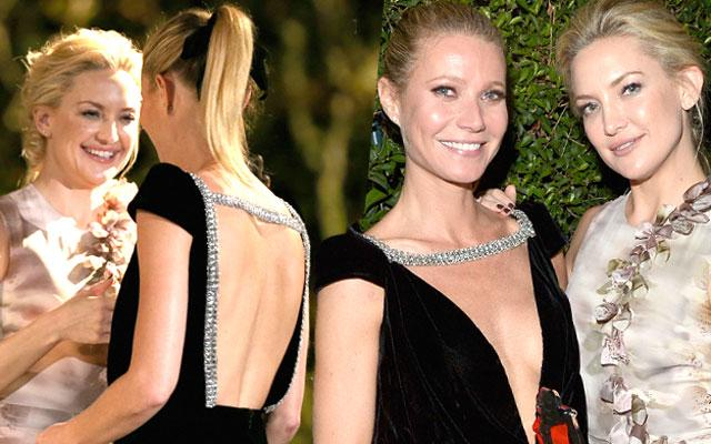 Kate Hudson and Gwyneth Paltrow Friends Drinking