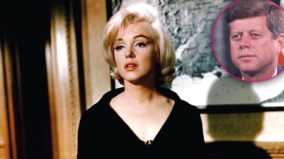 Marilyn Monroe May Have Filled Secret Diary With State Secrets After JFK Affair
