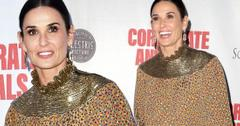 Demi Moore On Red Carpet After Miscarriage News In Interview