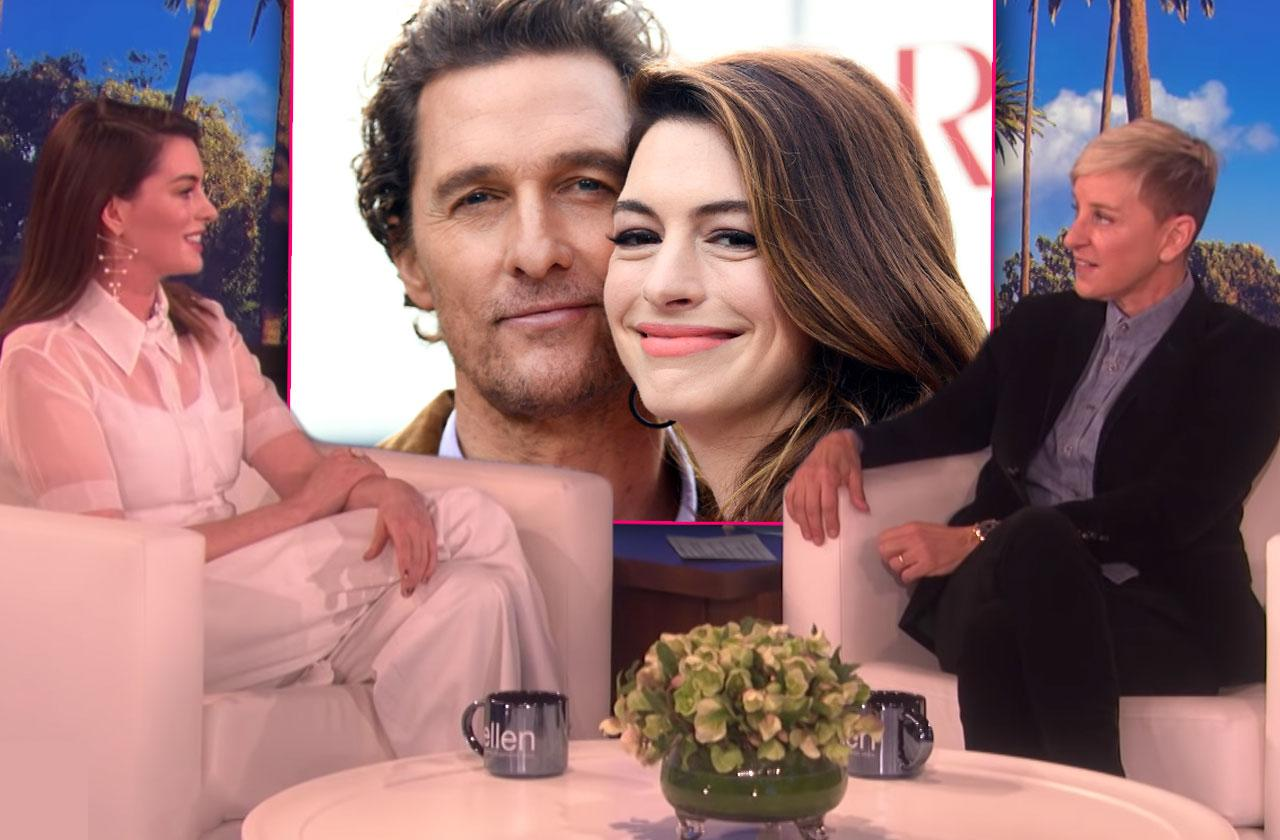 Anne Hathaway Quit Drinking Partying With Mathew McConaughey