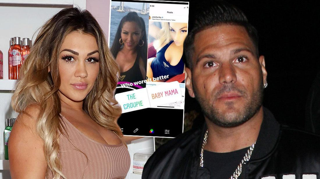 Ronnie Ortiz-Magro Splits From Jen Harley, Hugs Other Woman