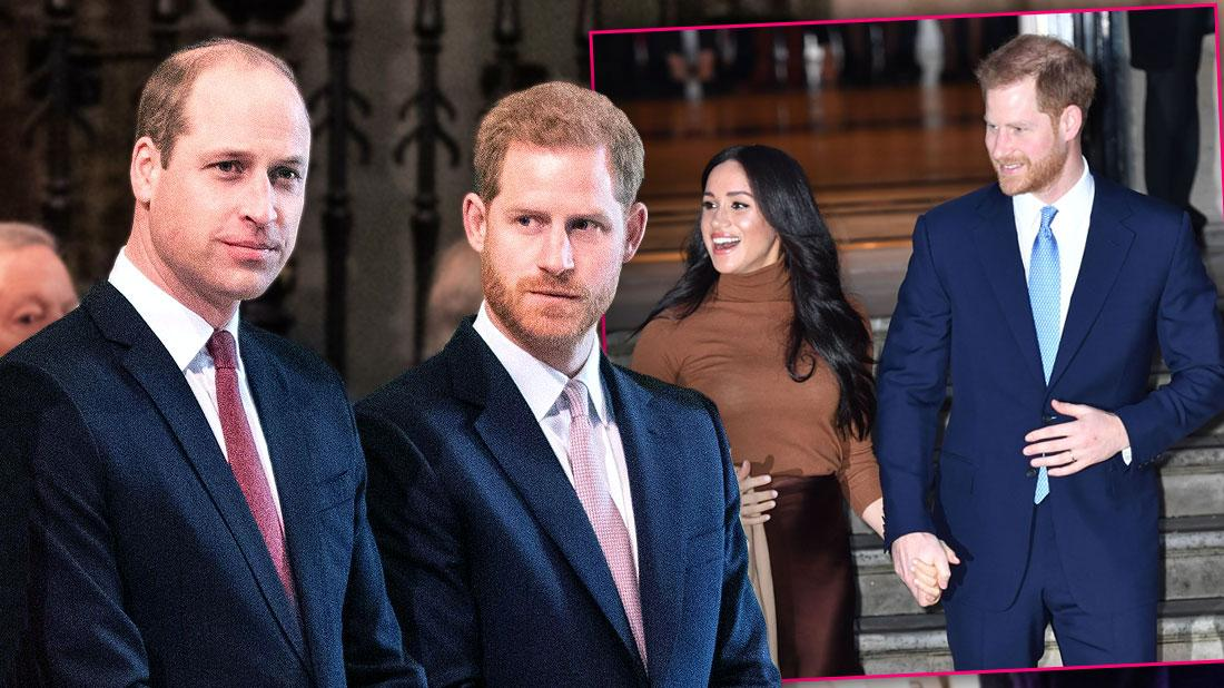 Prince Harry & Prince William Deny Rift Rumors In Joint Statement