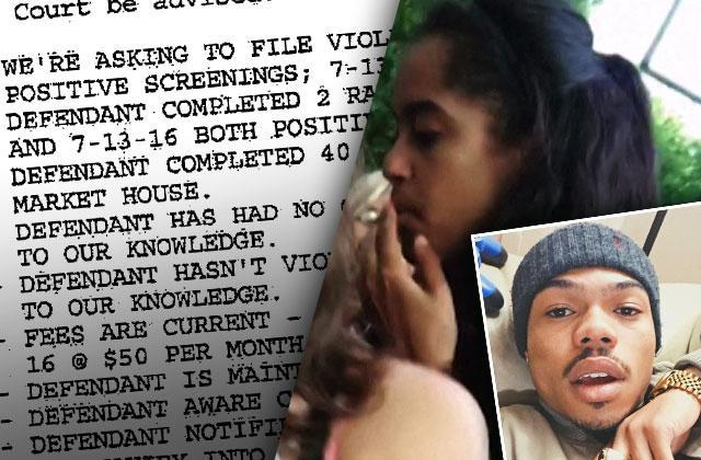 Malia Obama Smoking Pot Taylor Bennett Probation Violation Drugs