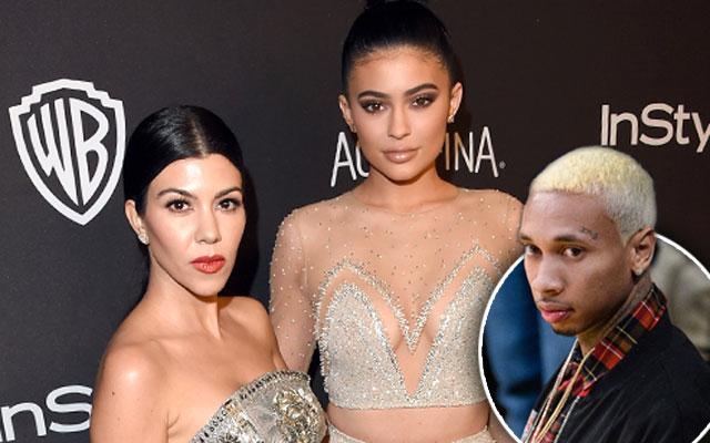 Kylie Jenner Uninvited Tyga Globes