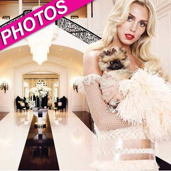 //petra ecclestone mansion w magazine