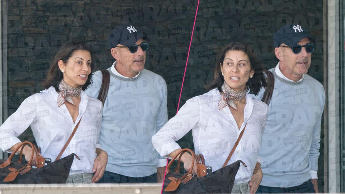 Caught! Disgraced 'TODAY' Anchor Matt Lauer Dating Wife Look-A-Like Friend, PR Maven Shamin Aba