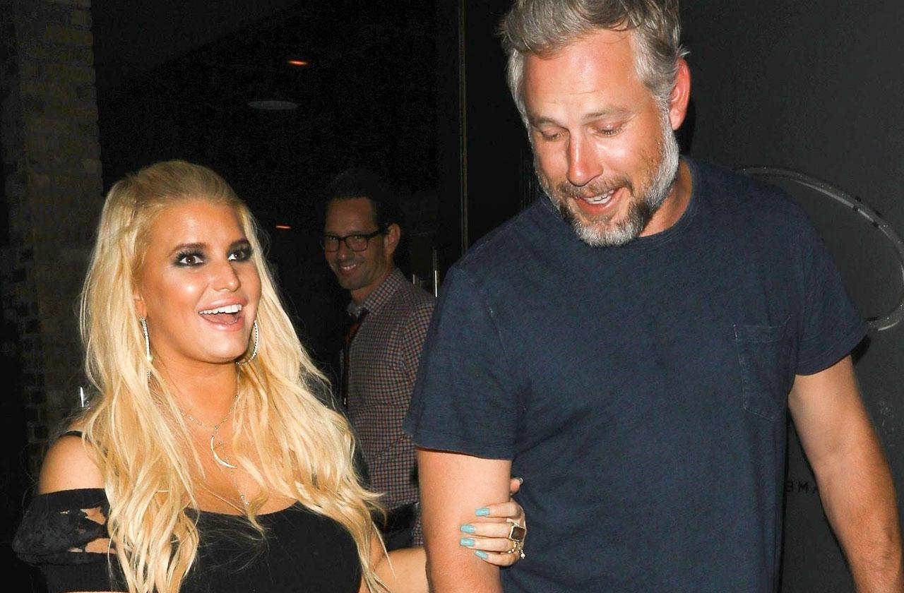 //jessica simpson eric johnson baby drinking issues pp