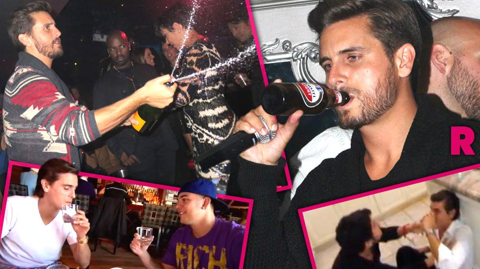 //scott disick outrageous drunken moments photo video gallery pp