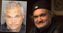 Artie Lange Looking Healthy with Inset of His Mug Shot
