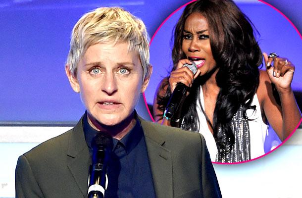 //Ellen DeGeneres Kim Burrell Feud Gay Anti Sermon pp