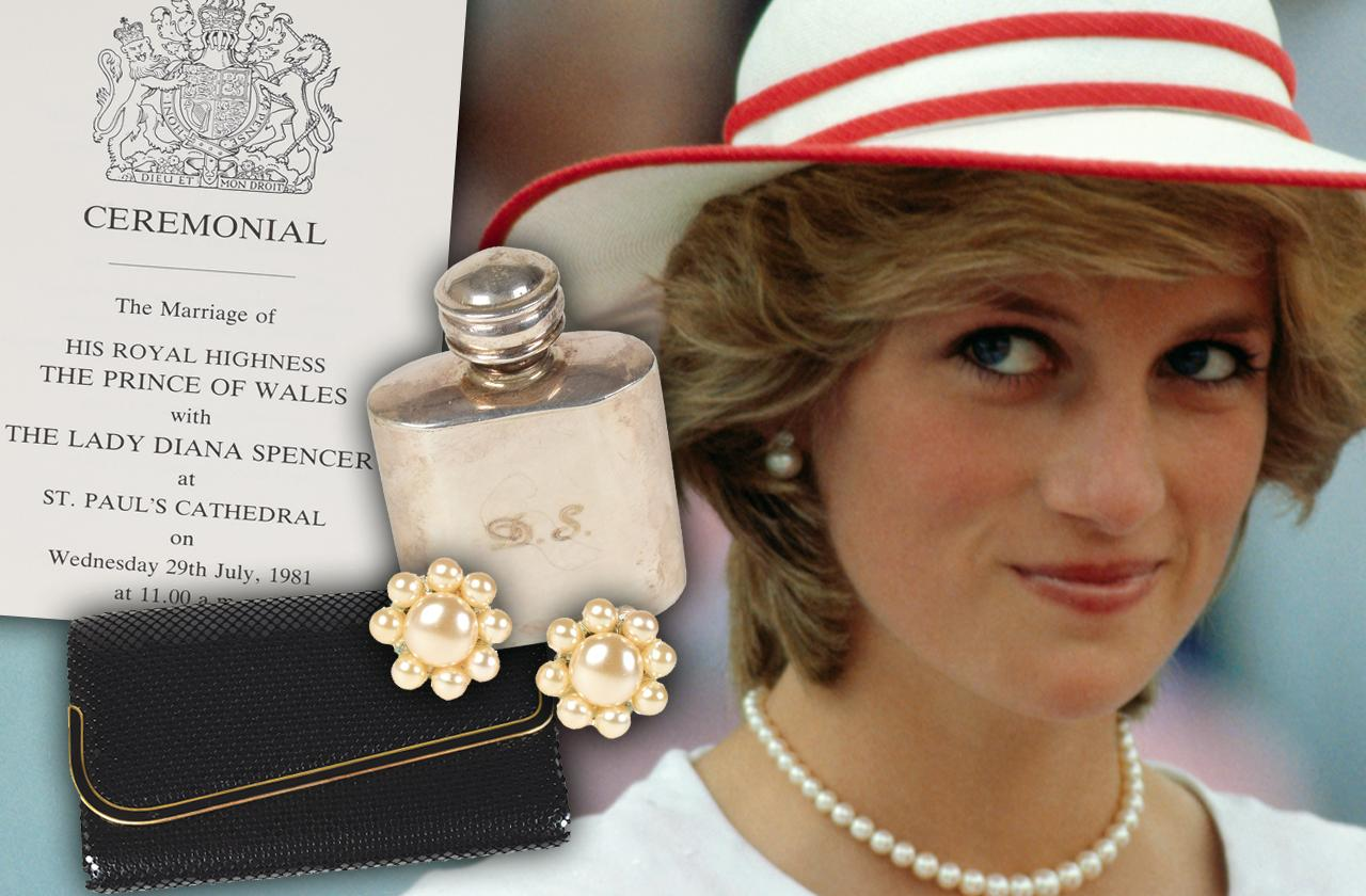 //princess diana auction personal possessions pp