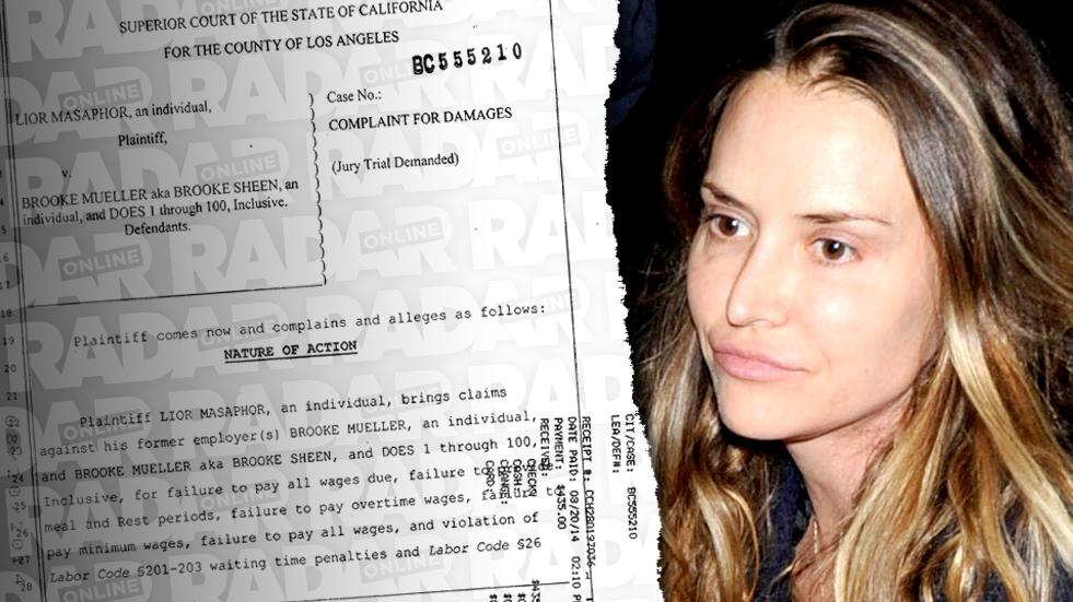 //brooke mueller former housekeeper suing threesome drug use  pp sl