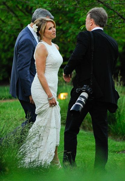 Happily Ever After Katie Couric And John Molner Tie The Knot
