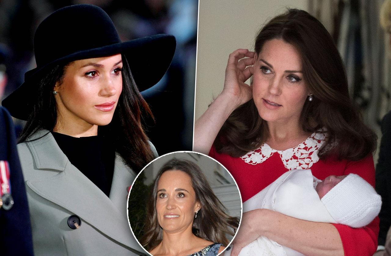 Kate Middleton Furious Meghan Markle Snubbed Sister Pippa