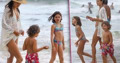 Alessandra Ambrosio Bikini Kids