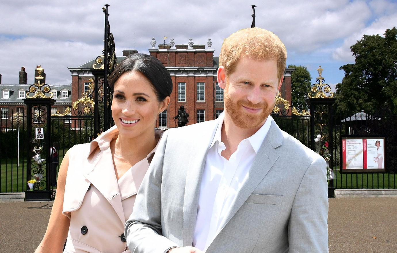 Meghan Markle And Prince Harry Ditch The Palace