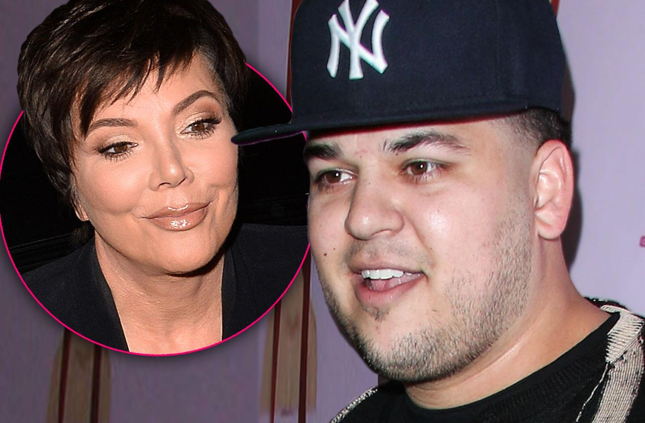 Rob Kardashian Kris Jenner Millions Dollars Lose Weight