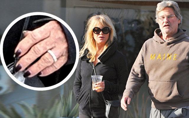 Goldie Hawn & Kurt Russell Marriage