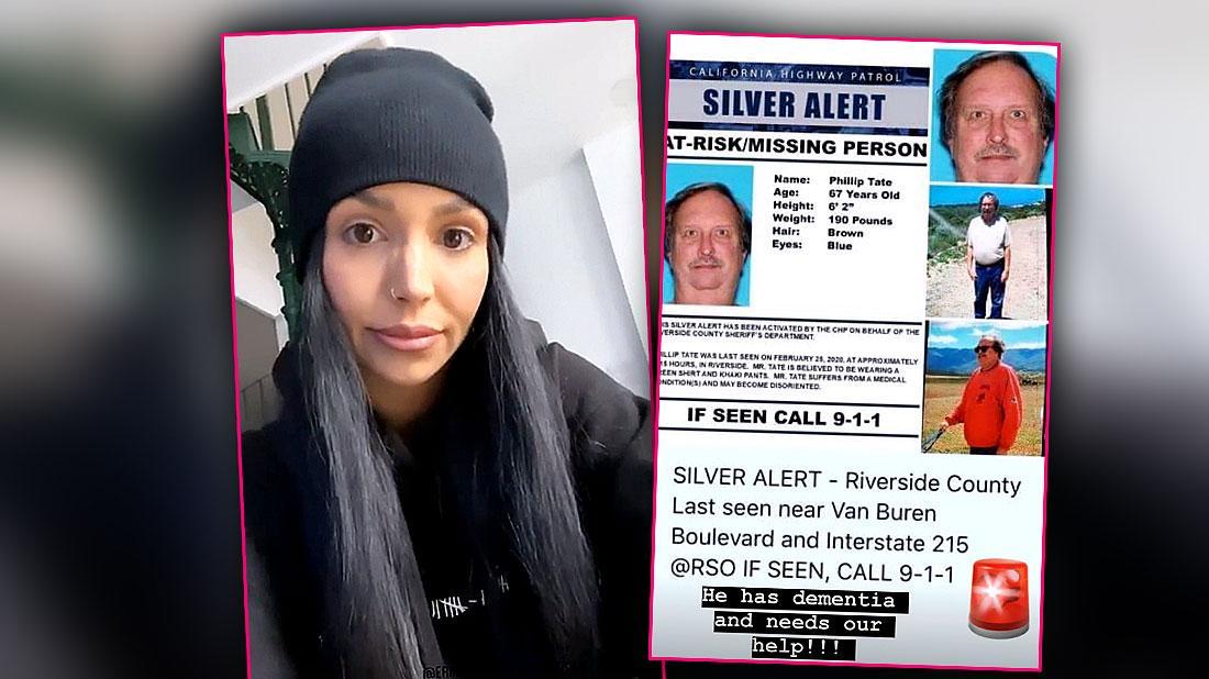 Scheana Marie Cousin Phil Is Missing Has Dementia
