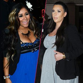 Snooki sticks up for pregnant Kim kardashian