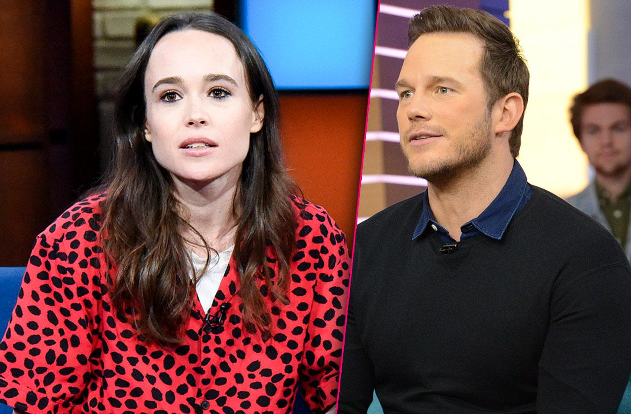 Ellen Page Calls Out Chris Pratt