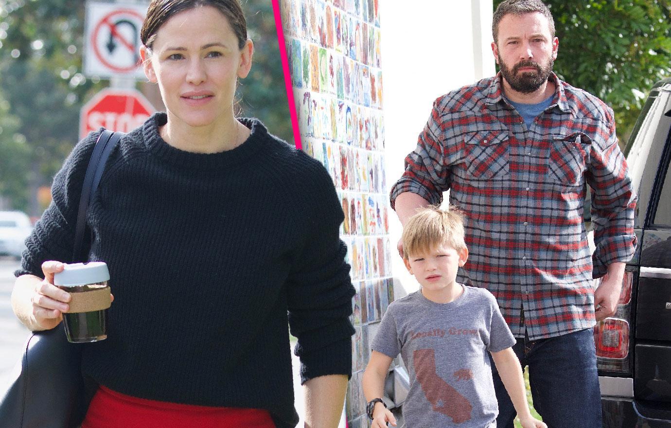 Ben Affleck And Jennifer Garner Head To Church