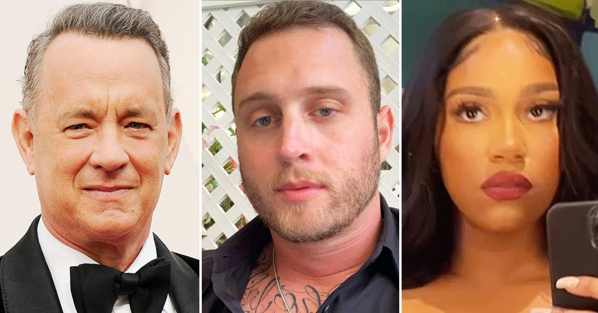 tom hanks son chet ex girlfriend bloody fight altercation video