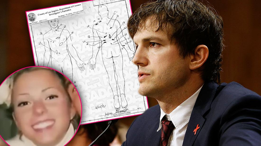 Ashton kutcher girlfriend-ashley ellerin murder killer trial