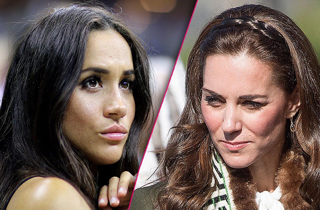 Meghan Markle Kate Middleton Reunite Icy Royal Christmas