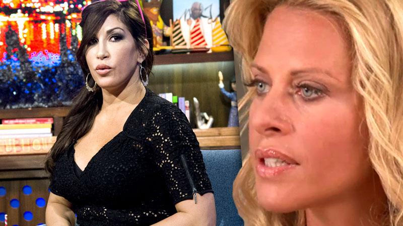 //dina manzo not happy jacqueline laurita back on rhonj pp sl