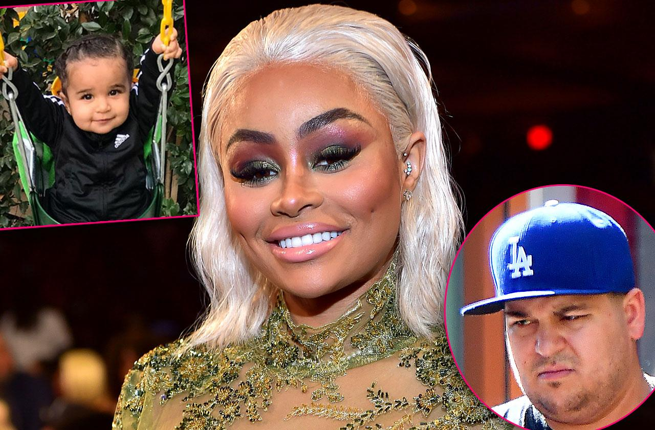 Blac Chyna Slams Rob Kardashian Poor Little Rich Boy
