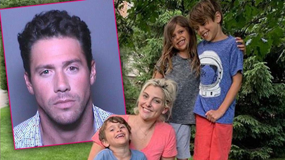 'RHOC' Star Gina Kirschenheiter & Kids In NYC After Husband Matt's Attack